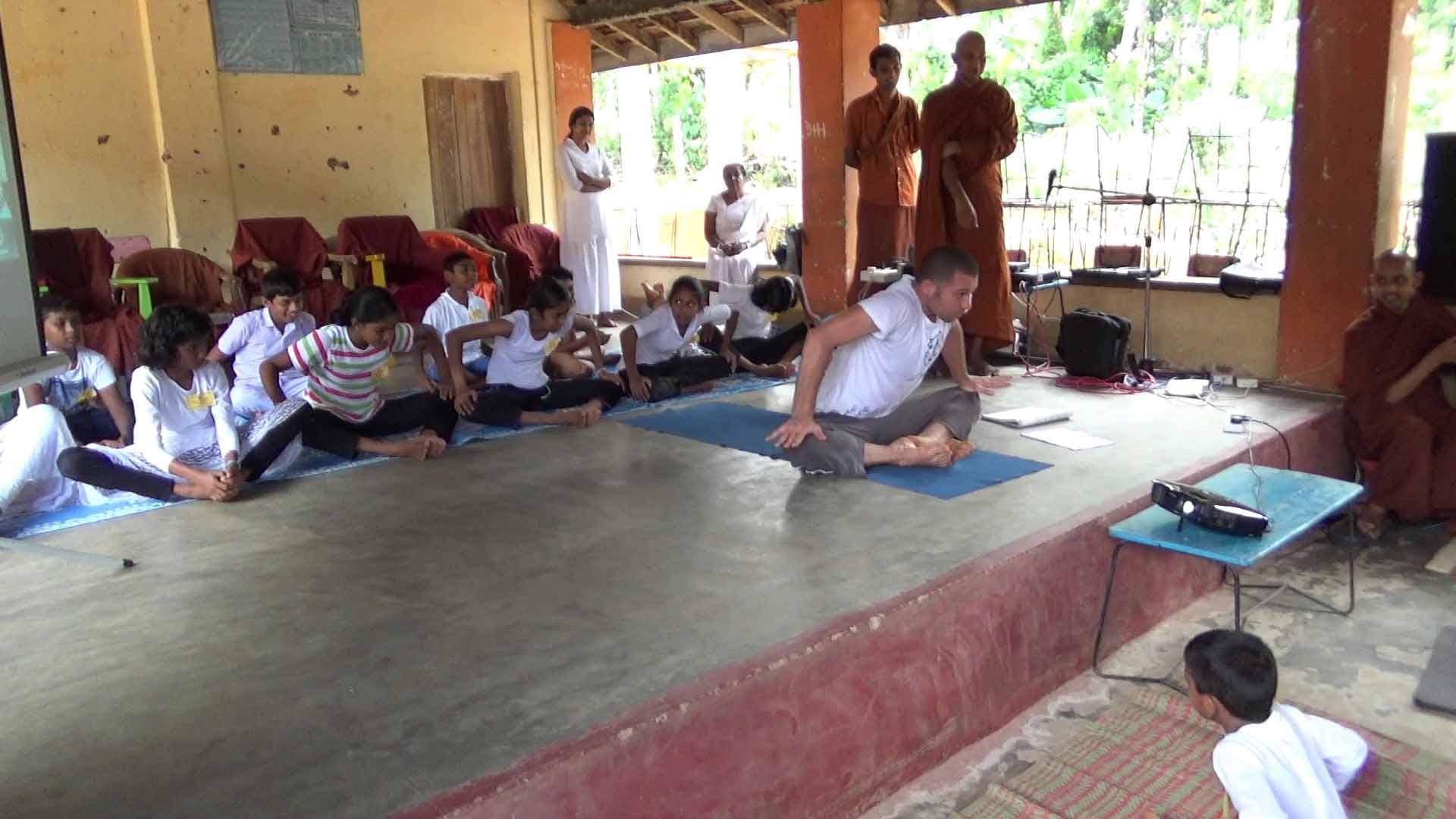 Sati Camp at Meethirigala Kanishta Vidyalaya-yoga session (22)