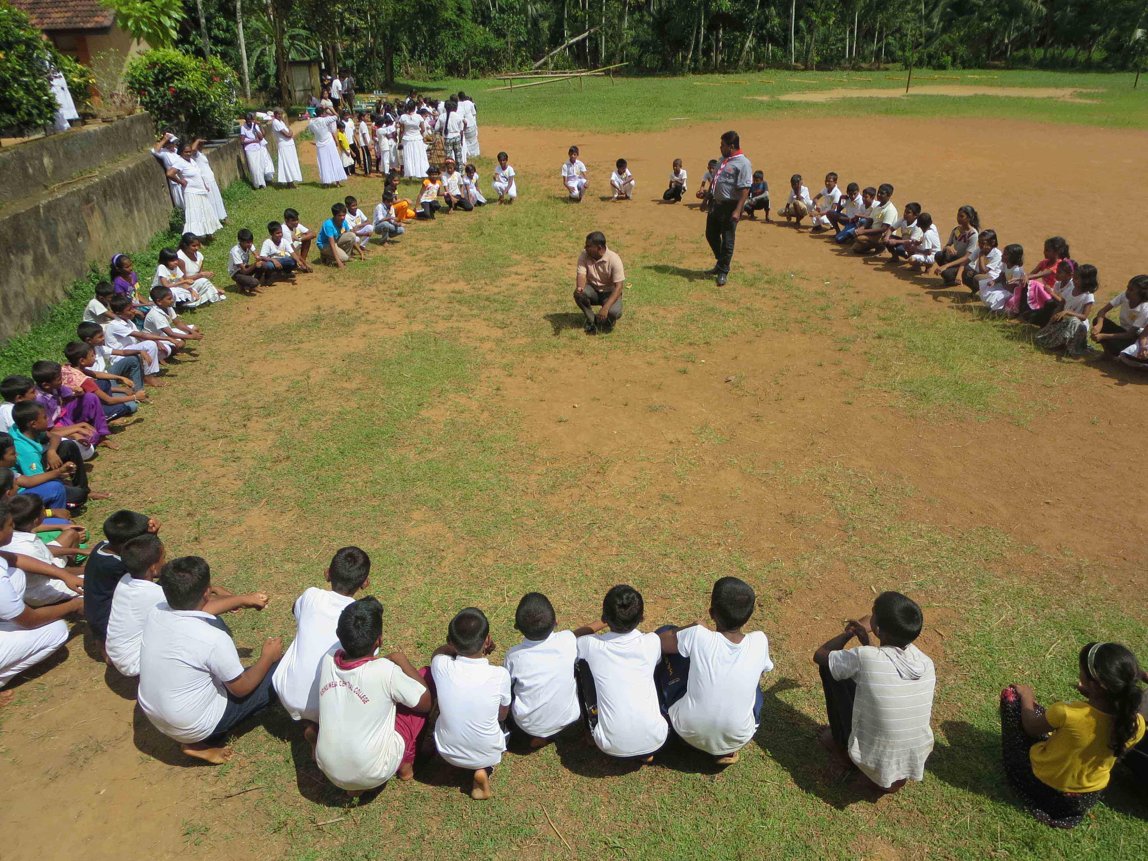Sati Pasala Mindfulness Camp at Meethirigala Kanishta Vidyalaya-scouting activities (3)