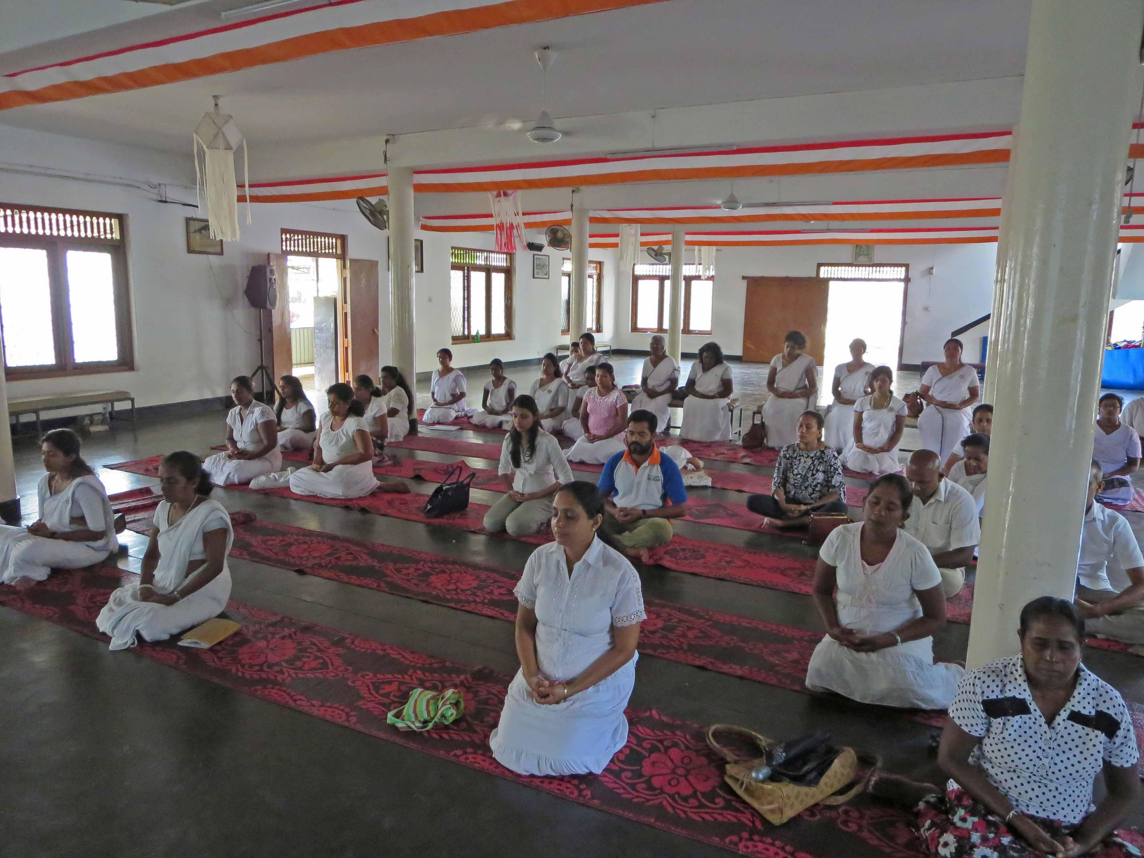 'Sati Daham Pasala' program at Hendala Rajamaha Viharaya, Wattala