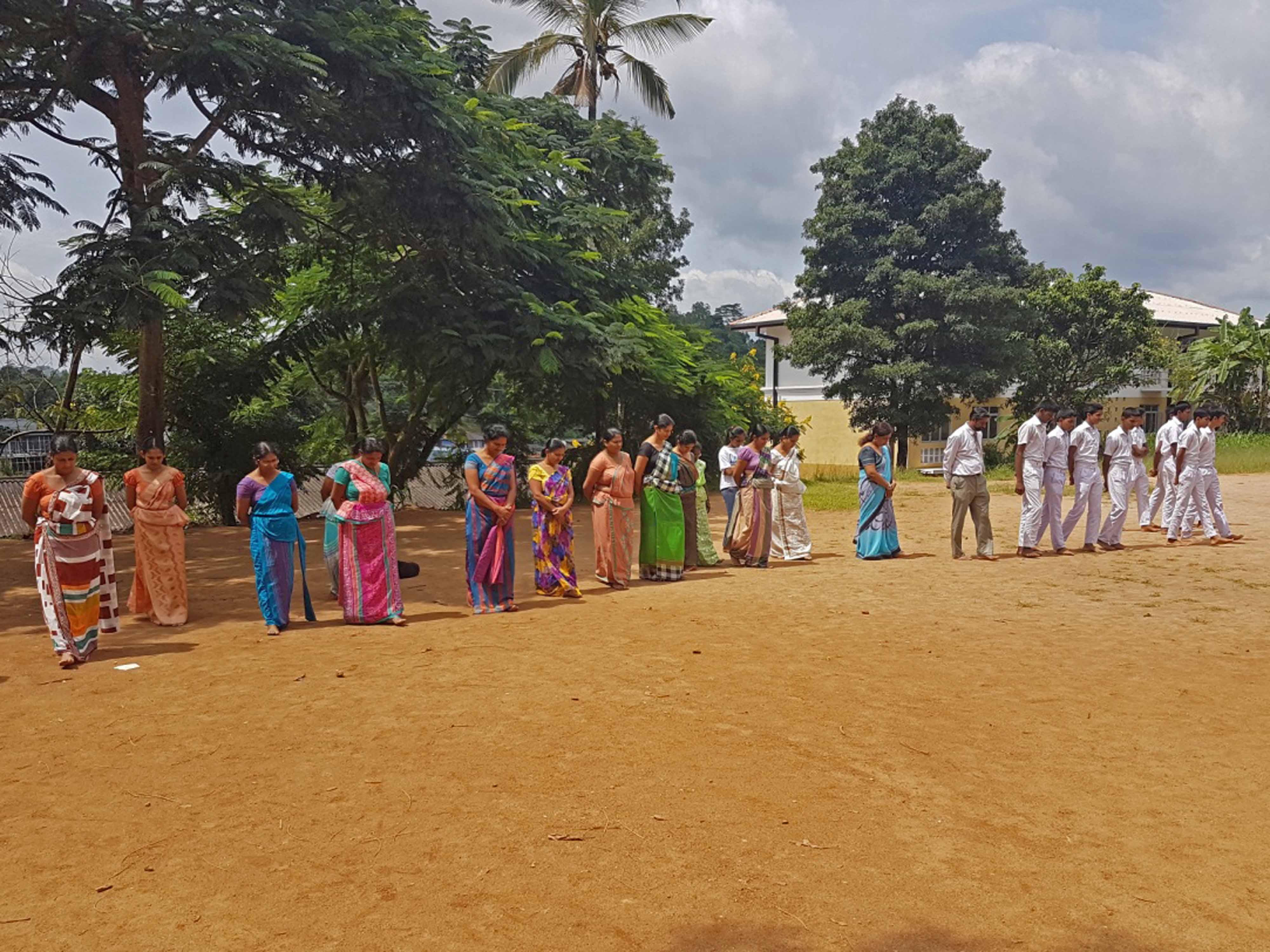 Sati Pasala program at Sri Swarnajothi Jathika Pasala - Kiribathkumbura