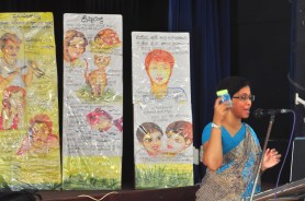 Sati Pasala visits Vidura College Primary on the 22nd & 28th September 2017 (2)
