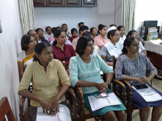 A Mindfulness Program for Doctors of Karapitiya Hospital was held on the 04.10.2017