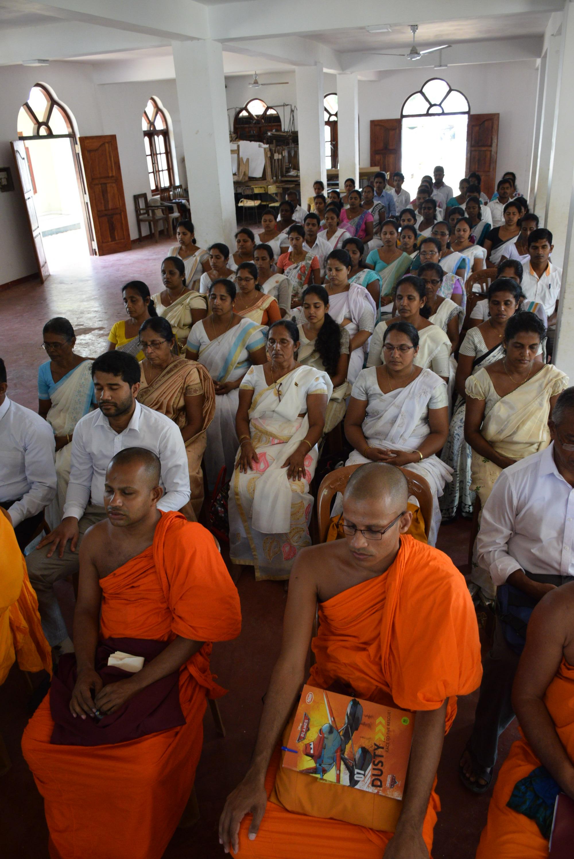 Sati Pasala Mindfulness Programe for Principals and Teachers of Southern Province (11)