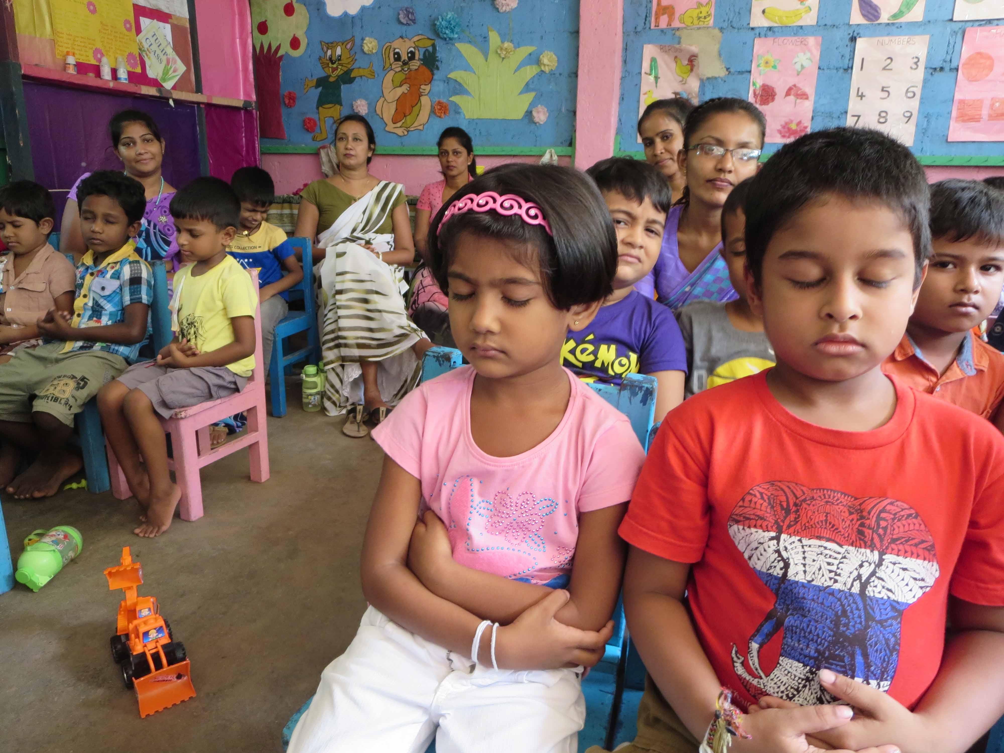 Sati Pasala Mindfulness Training Program for Visaka Pre-School Kadawatha (10)