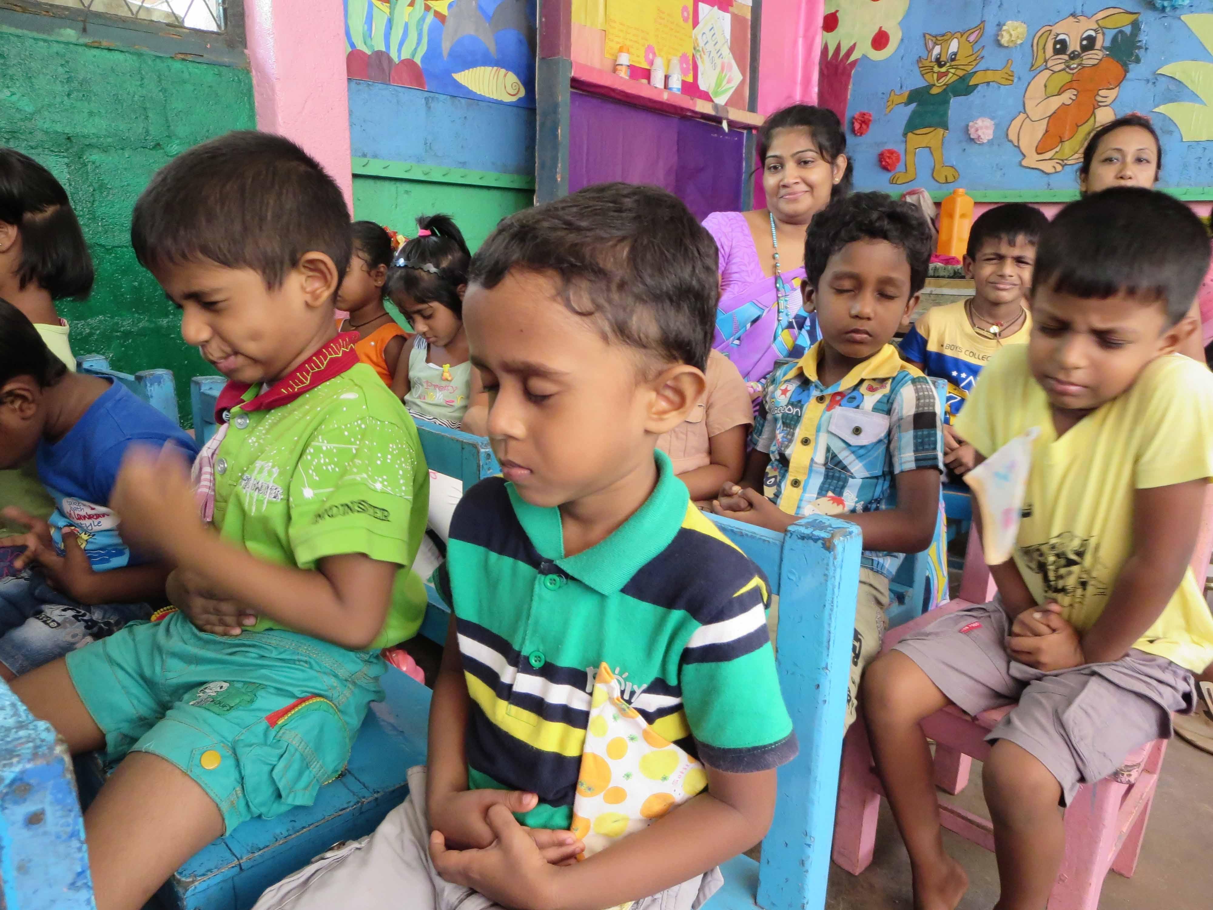 Sati Pasala Mindfulness Training Program for Visaka Pre-School Kadawatha (11)