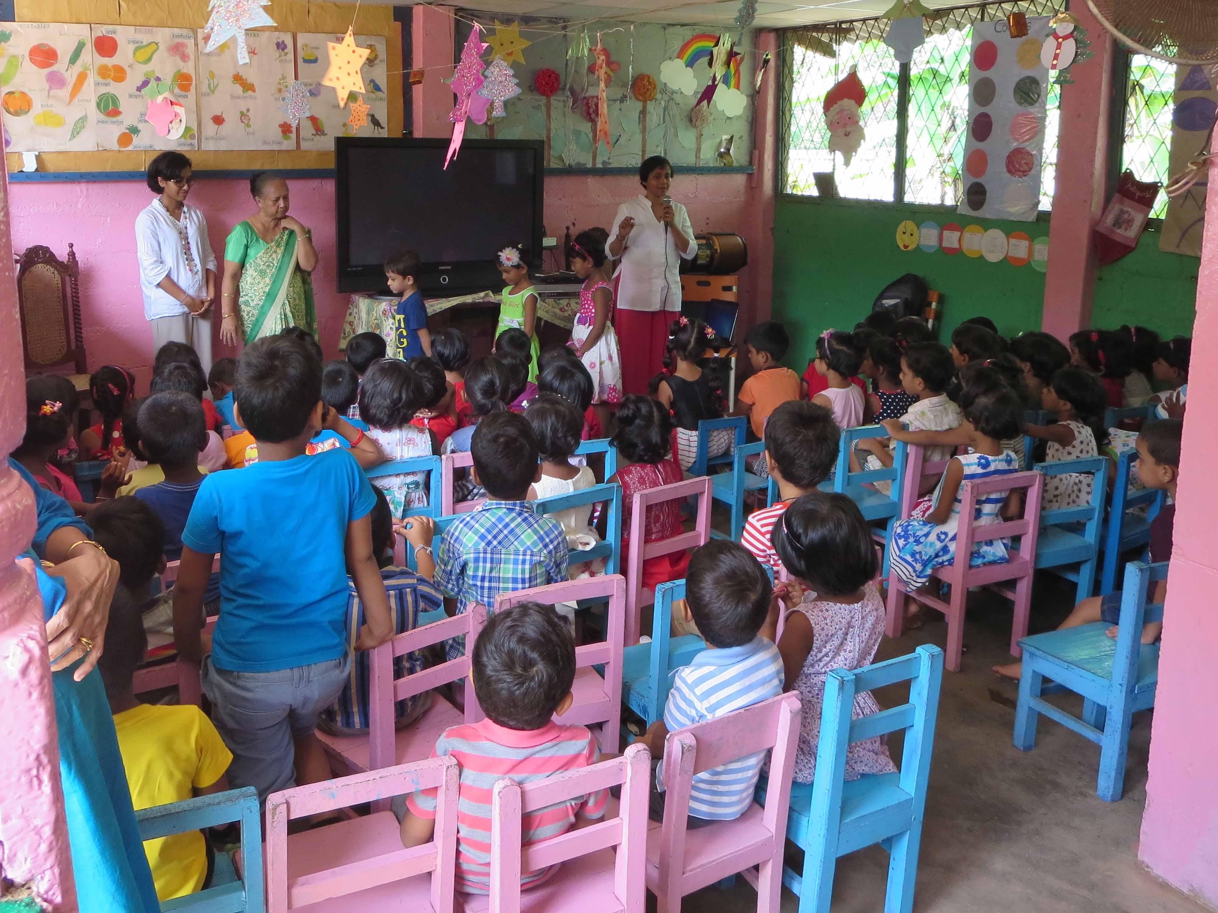 Sati Pasala Mindfulness Training Program for Visaka Pre-School Kadawatha (16)