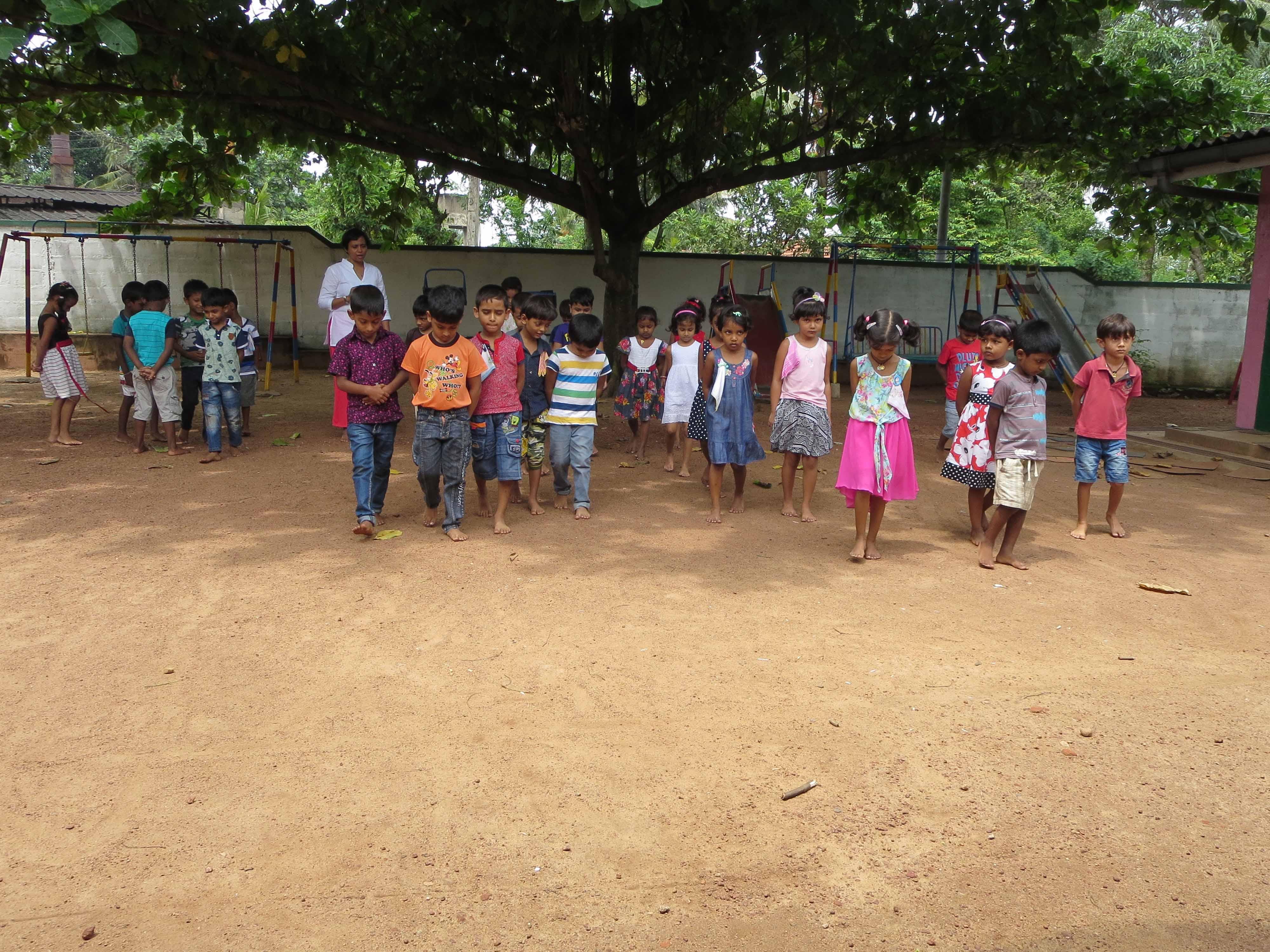 Sati Pasala Mindfulness Training Program for Visaka Pre-School Kadawatha (33)