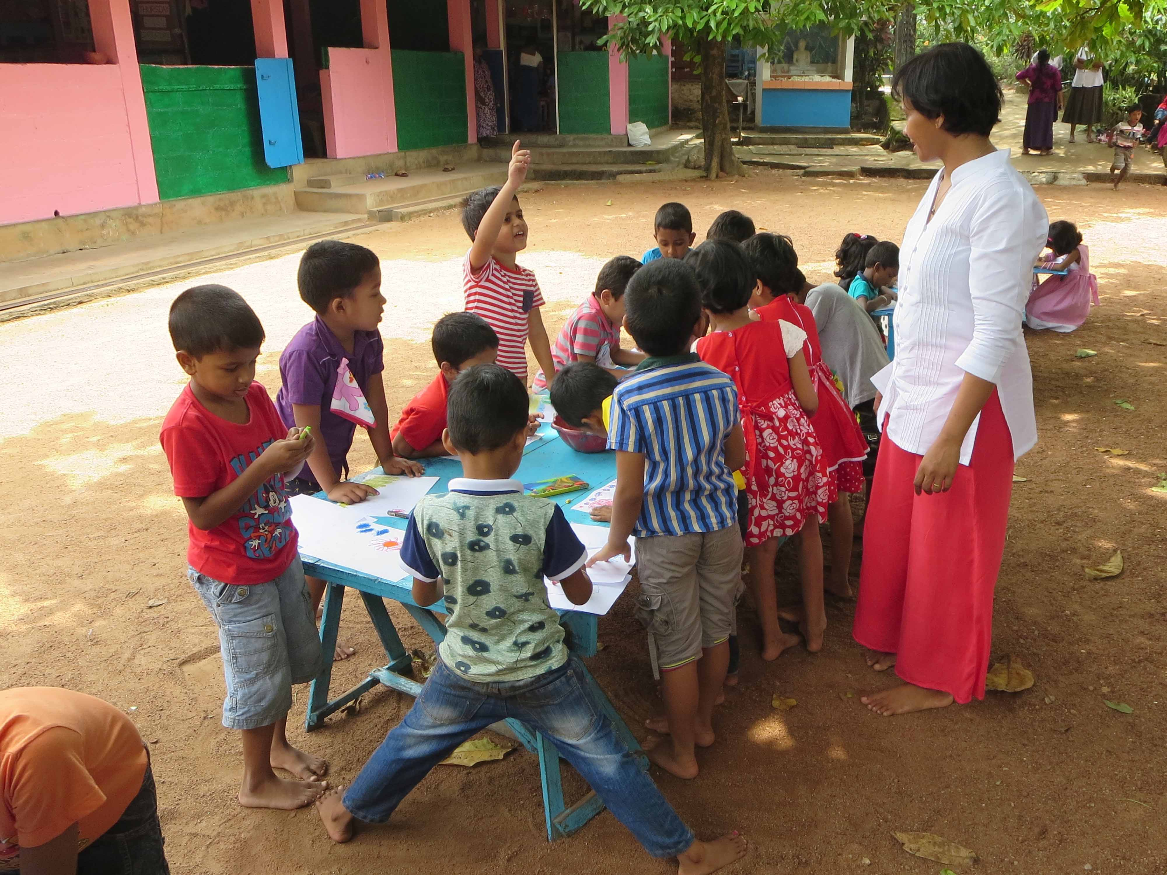 Sati Pasala Mindfulness Training Program for Visaka Pre-School Kadawatha (56)