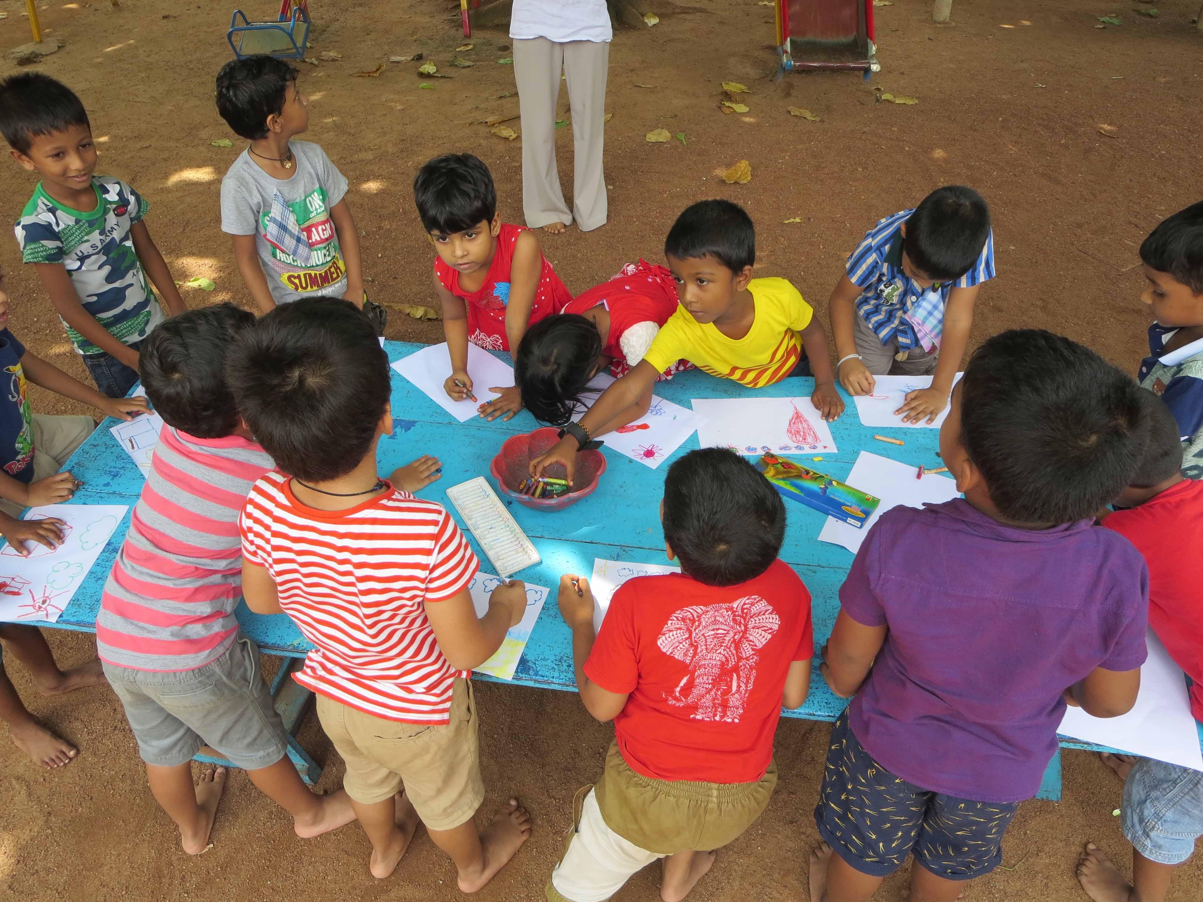 Sati Pasala Mindfulness Training Program for Visaka Pre-School Kadawatha (58)