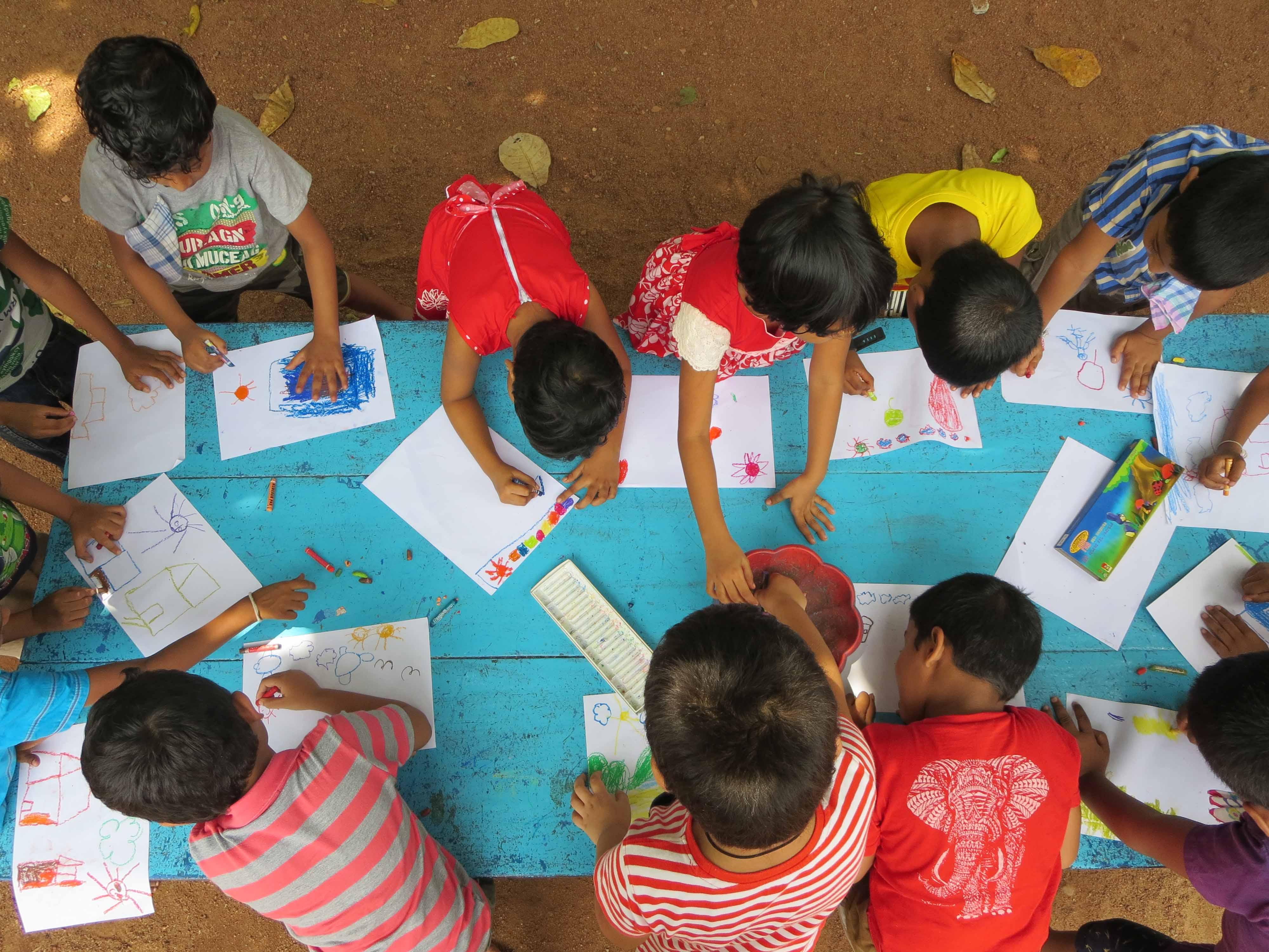Sati Pasala Mindfulness Training Program for Visaka Pre-School Kadawatha (63)