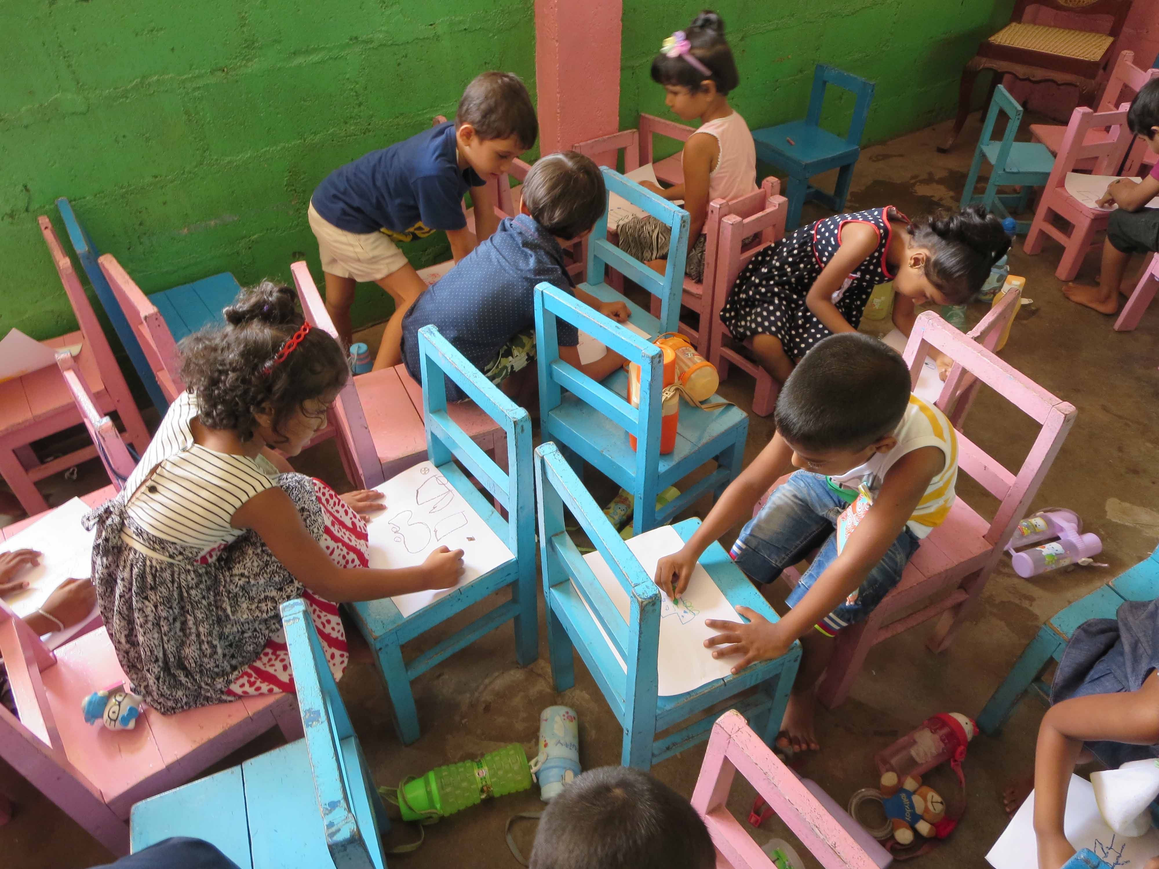 Sati Pasala Mindfulness Training Program for Visaka Pre-School Kadawatha (64)