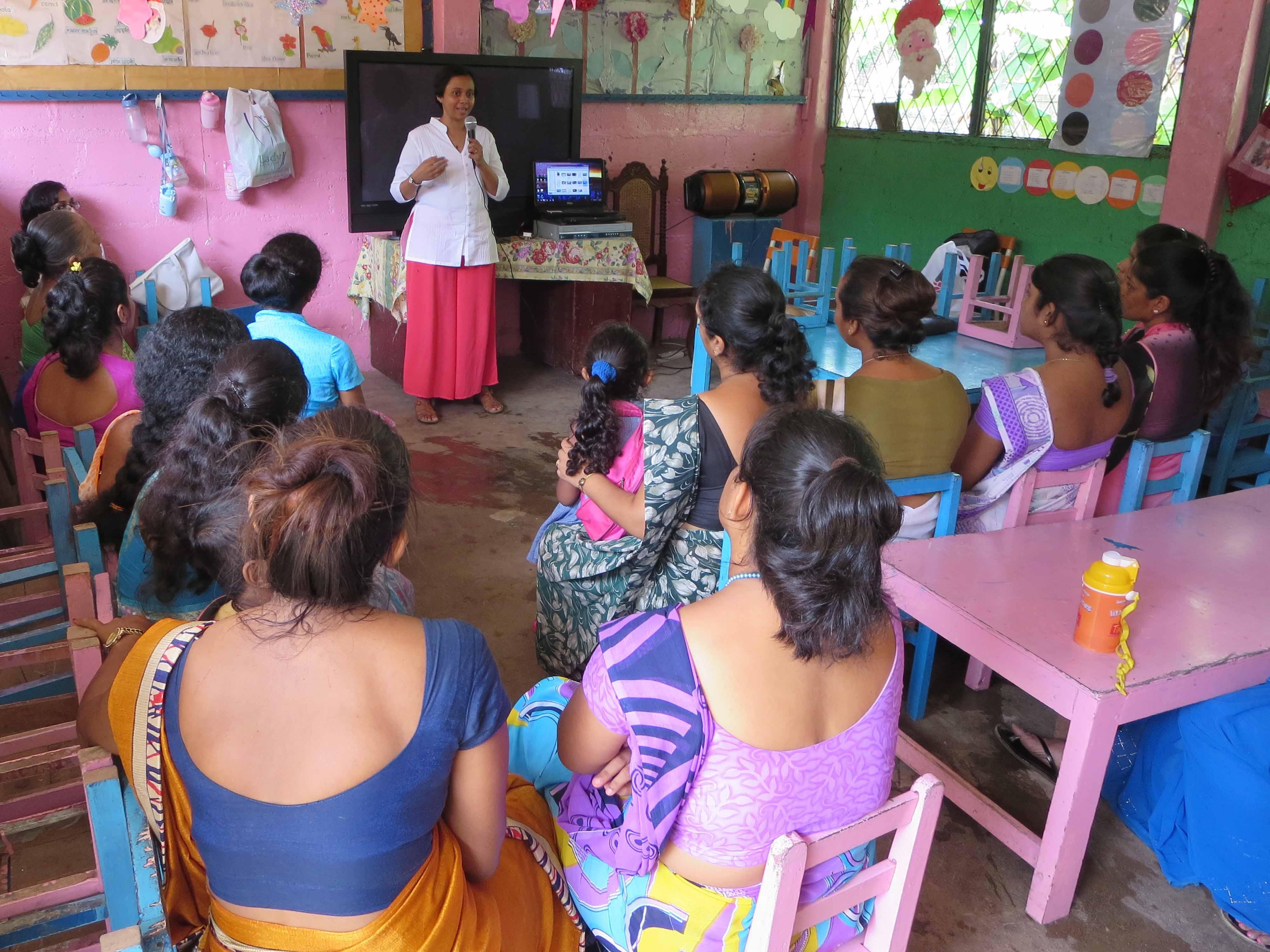 Sati Pasala Mindfulness Training Program for Visaka Pre-School Kadawatha (72)