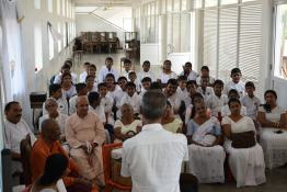 Sati Pasala Mindfulness program at Gangaramaya Temple (3)
