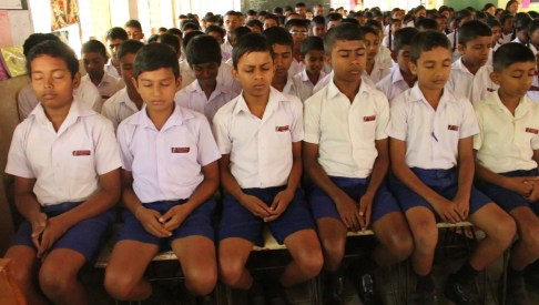 Introduction of Sati Pasala to a few schools in Balangoda (2)