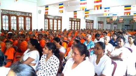 Sati Pirivena Introduction Programme at Mahavihara Maha Pirivena - Asgiriya, Kandy (2)