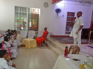 Sati Pasala Mindfulness program at Dhammikarama Temple Dhamma School (1)
