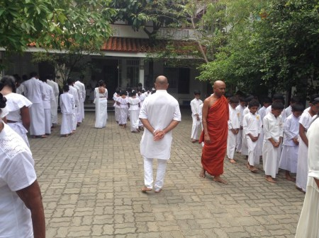 Sati Pasala Mindfulness program at Dhammikarama Temple Dhamma School (11)