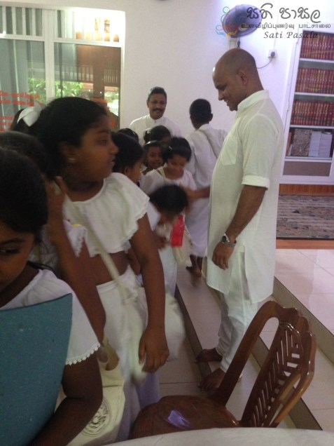 Sati Pasala Mindfulness program at Dhammikarama Temple Dhamma School (2)