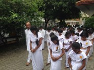 Sati Pasala Mindfulness program at Dhammikarama Temple Dhamma School (8)