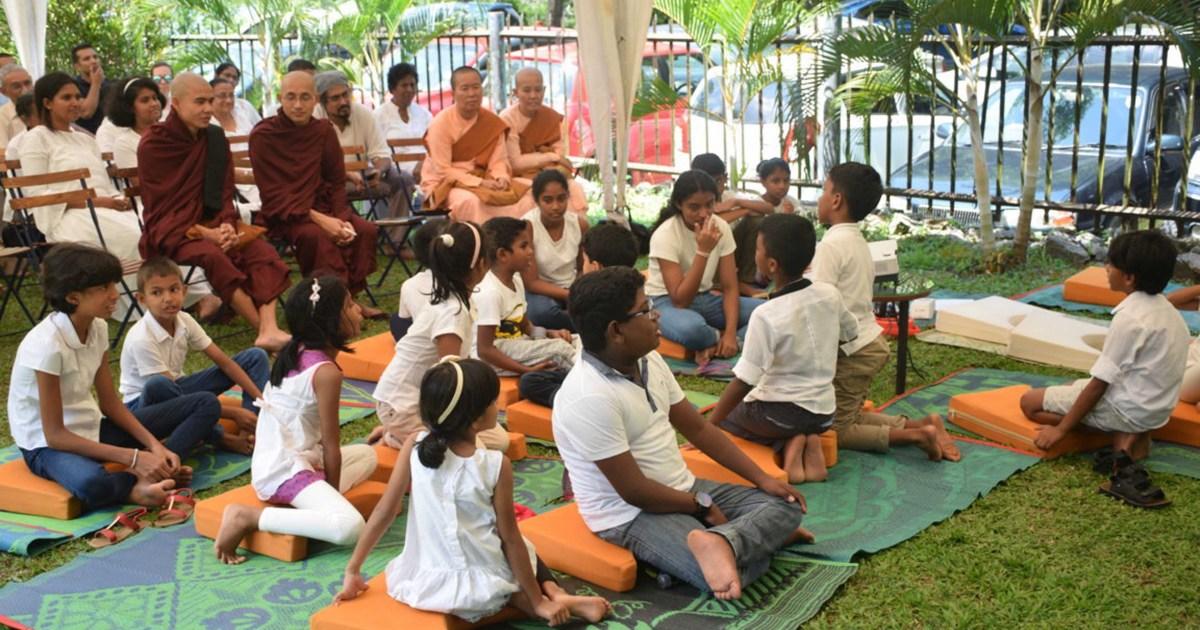 Multi-faith mindfulness program at Walpola Rahula Institute