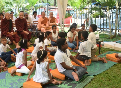 Multi-faith mindfulness program at Walpola Rahula Institute