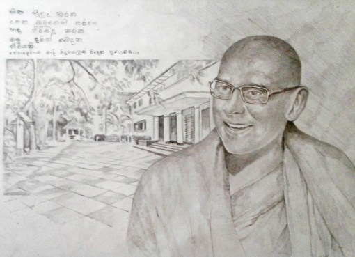 Founder of Sati Pasala at his Alma Mater - Peradeniya MMV