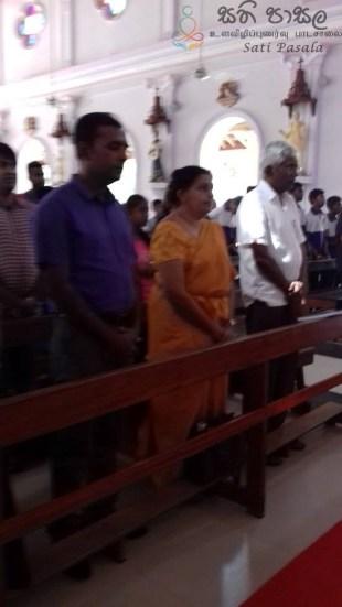 Sati Pasala Programme at Malwaththa Church, Negambo (12)