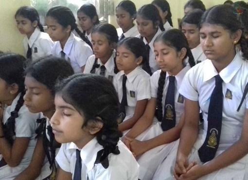 Sati Pasala programme at Ambanwela Primary, Welamboda