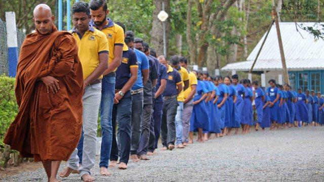 'Sati Pasala' – program for Wikiliya Tea factory officers and workers - Balangoda