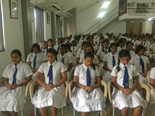 Sati Pasala Programme at Musaeus College, Colombo 7