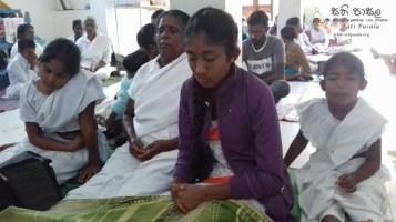 Sati Pasala programme at Sri Bodhirukkaramaya Temple, Doragala (9)
