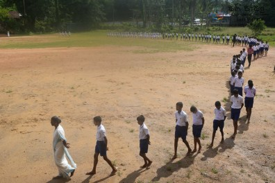 Thawalama Vidyaraja National School Grade 8 & 9 Students Practiced Mindfulness (11)