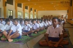 Thawalama Vidyaraja National School Grade 8 & 9 Students Practiced Mindfulness (19)