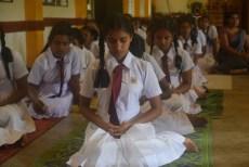 Thawalama Vidyaraja National School Grade 8 & 9 Students Practiced Mindfulness (21)