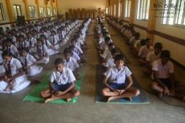 Thawalama Vidyaraja National School Grade 8 & 9 Students Practiced Mindfulness (24)
