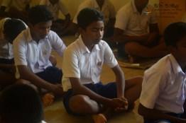Thawalama Vidyaraja National School Grade 8 & 9 Students Practiced Mindfulness (30)