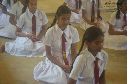 Thawalama Vidyaraja National School Grade 8 & 9 Students Practiced Mindfulness (31)