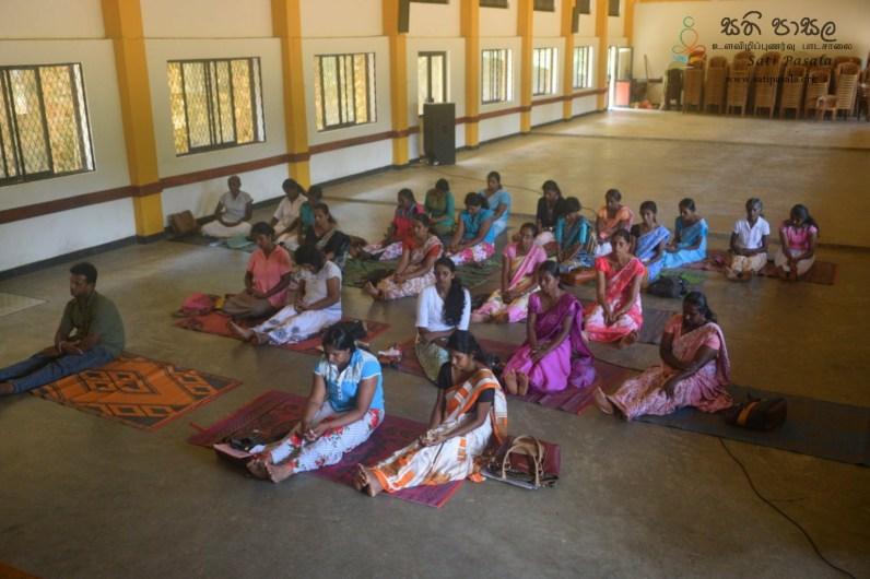 Thawalama Vidyaraja National School Grade 8 & 9 Students Practiced Mindfulness (35)