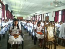 Mindfulness Programme at Sumana Balika Vidyalaya, Ratnapura (3)