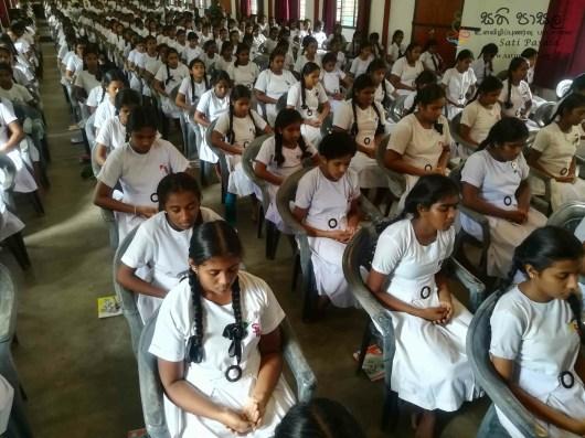 Mindfulness Programme at Sumana Balika Vidyalaya, Ratnapura (34)