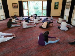 Sati Pasala -Dunedin -New Zealand has completed two years in September, 2018 (Yoga) (6)