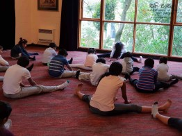 Sati Pasala -Dunedin -New Zealand has completed two years in September, 2018 (Yoga) (7)