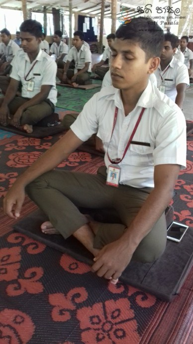 Sati Pasala Mindfulness Programme for Trainee PHI (6)