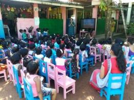 Sati Pasala Mindfulness Programme for Visaka Pre-School, Kadawatha (1)