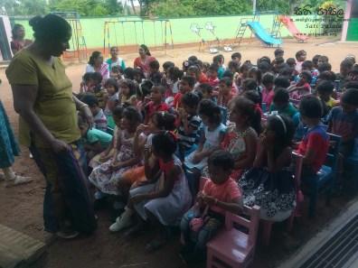 Sati Pasala Mindfulness Programme for Visaka Pre-School, Kadawatha (21)