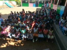 Sati Pasala Mindfulness Programme for Visaka Pre-School, Kadawatha (3)