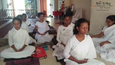Sati Pasala Programme at Seelawathi Sewana, Wickramasinghapura (13)