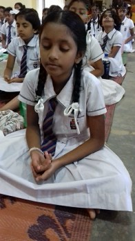Mindfulness for grade 4 and 5 students from President Model School Dodanwala (29)