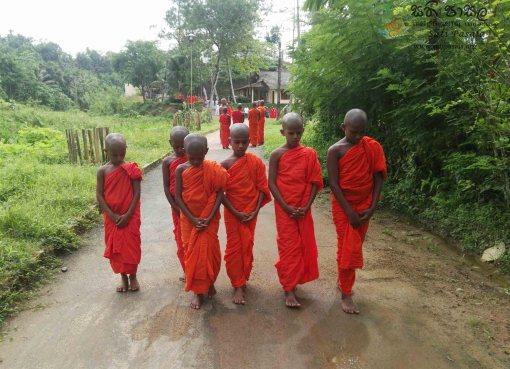 සති පාසල - Sati Pasala Initiative Programme at Banagala Sri Upatissa Pirivena
