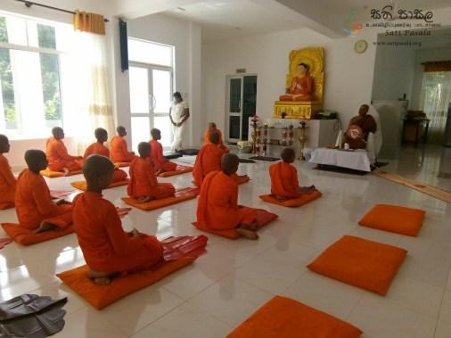 Sati Pasala Mindfulness Programme at Dekanduwala Bhikkhuni Training Centre (5)